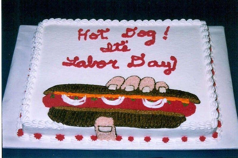 Labor Day Cake Idea Cake Happy Labor Day Patriotic Party