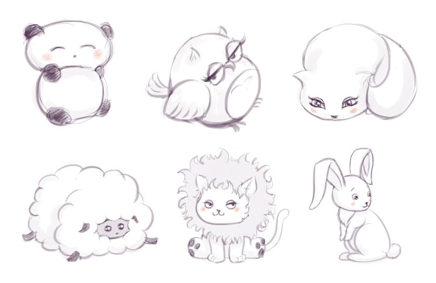 Animal chibi