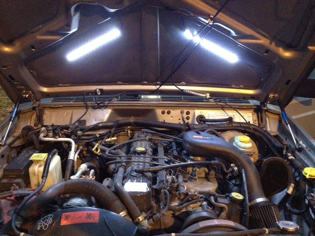 Underhood Engine Compartment Light Mod Jeepforum Com