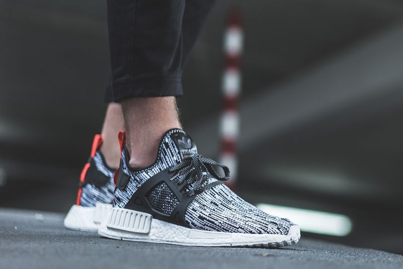 new concept 4de45 7252b On Foot Look at the adidas NMD XR1 Primeknit Glitch Camo
