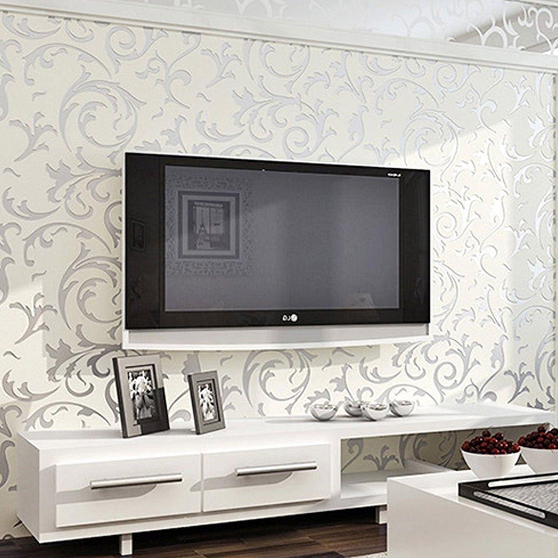 AllRight Optik Vliestapete Vlies Wand Tapete 3D Barock Rolle Wandtapete  Dekoration 10M #schönetapete #tapete