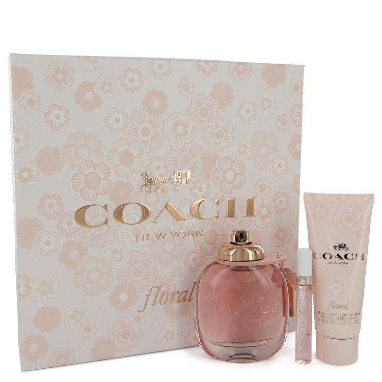 Coach Floral Perfume Women Eau De Parfum Spray 3 Oz Fragrance Gift Set Coach Floral Perfumes Coach Floral Fragrance Gift Set