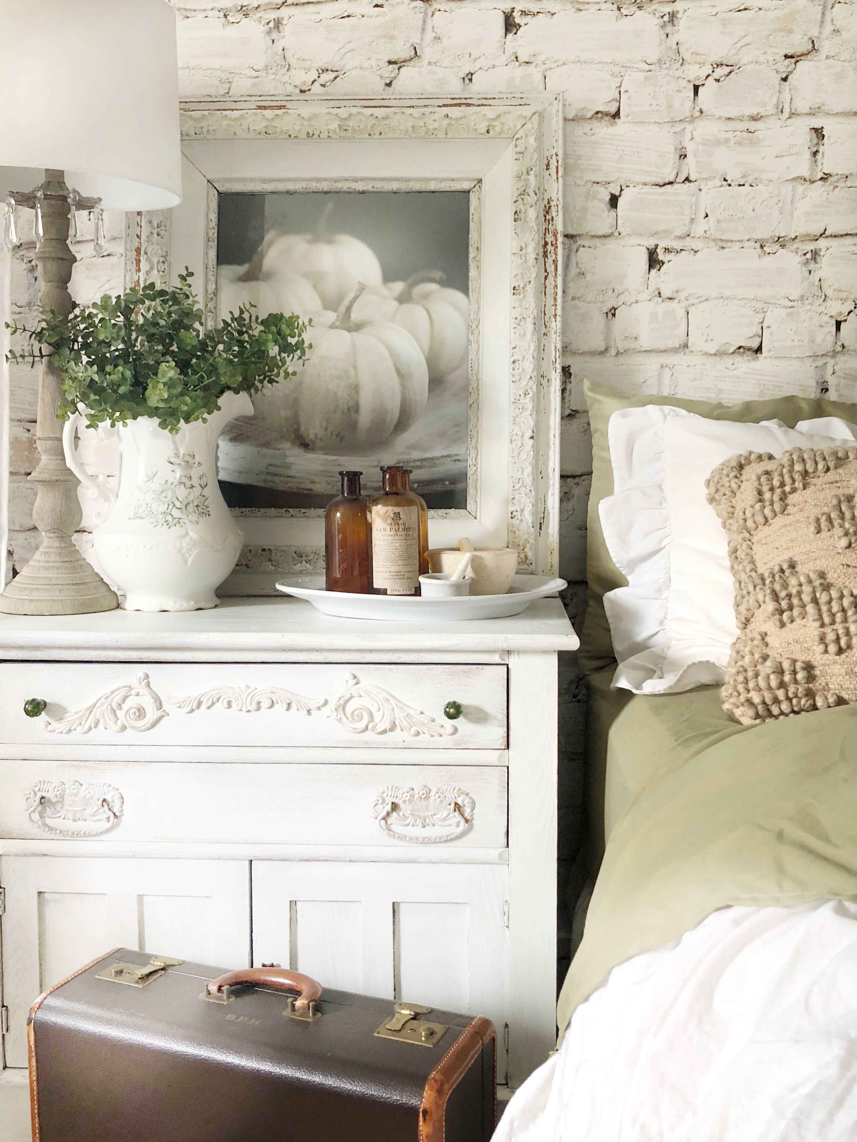 Linens and hutch sheets house on winchester farmhouse decor in
