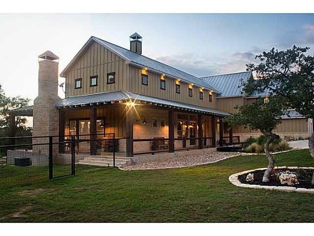 pole barn house plans | Pole barn home | house barn combo ...