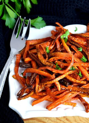 Baked carrot fries with thyme recipe yummly recipes pinterest baked carrot fries with thyme recipe yummly forumfinder Choice Image