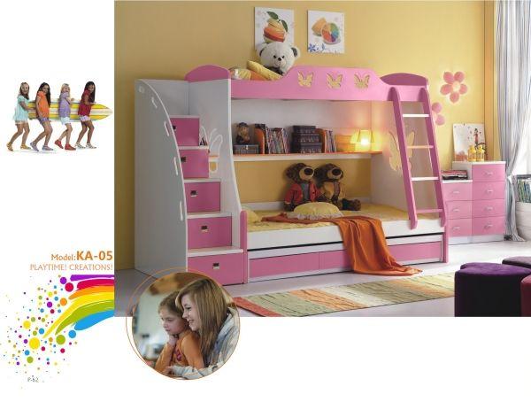 Etagenbett Geko Rosa : Rosa etagenbett kinder und jugendzimmer pinterest
