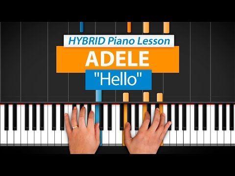 "How To Play ""Hello"" by Adele   HDpiano (Part 1) Piano Tutorial - YouTube"