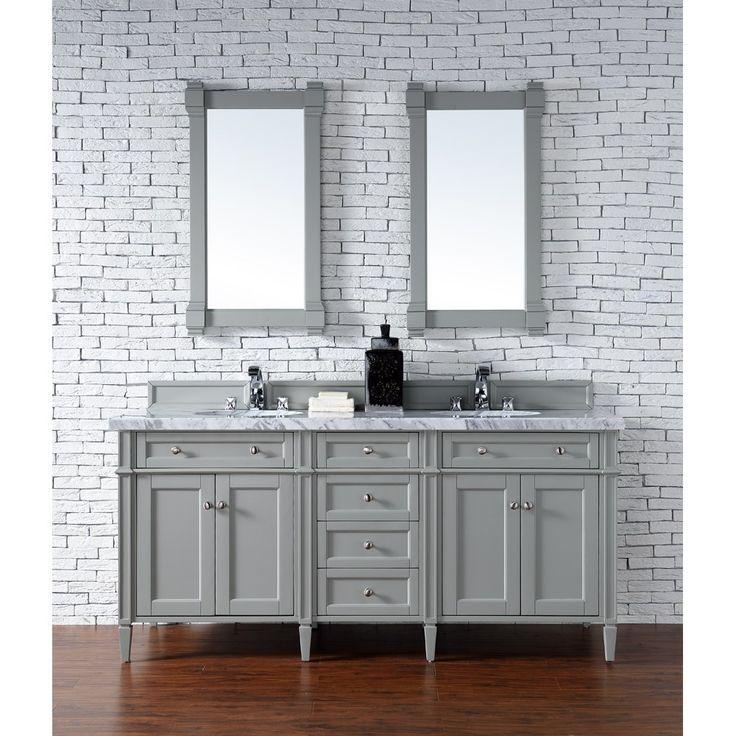 Best James Martin 72 Brittany Double Cabinet Vanity Urban 640 x 480