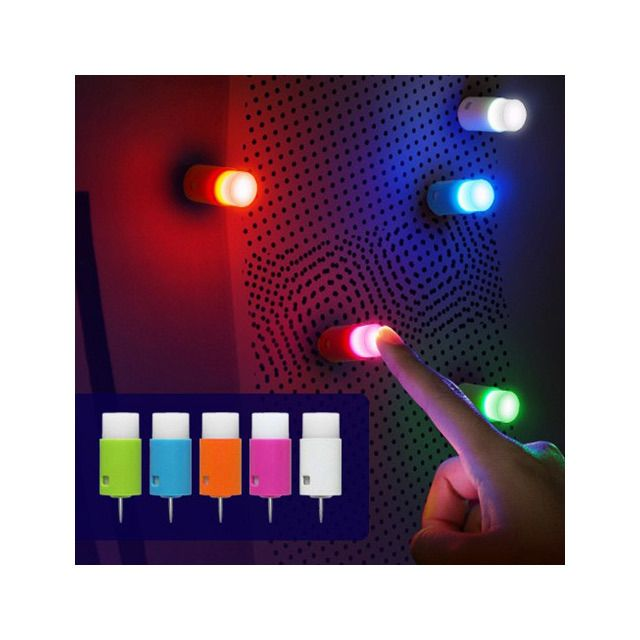 20-Piece Set: Mini One-Touch LED Lights