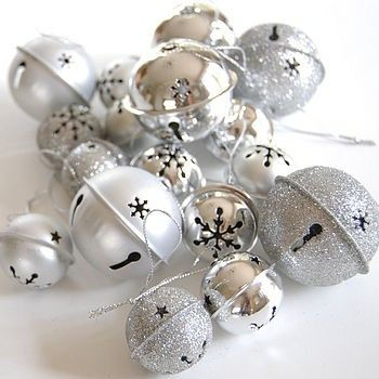 Silver Bells Christmas Decorations Silver Bells Silver Bells Christmas And New Years