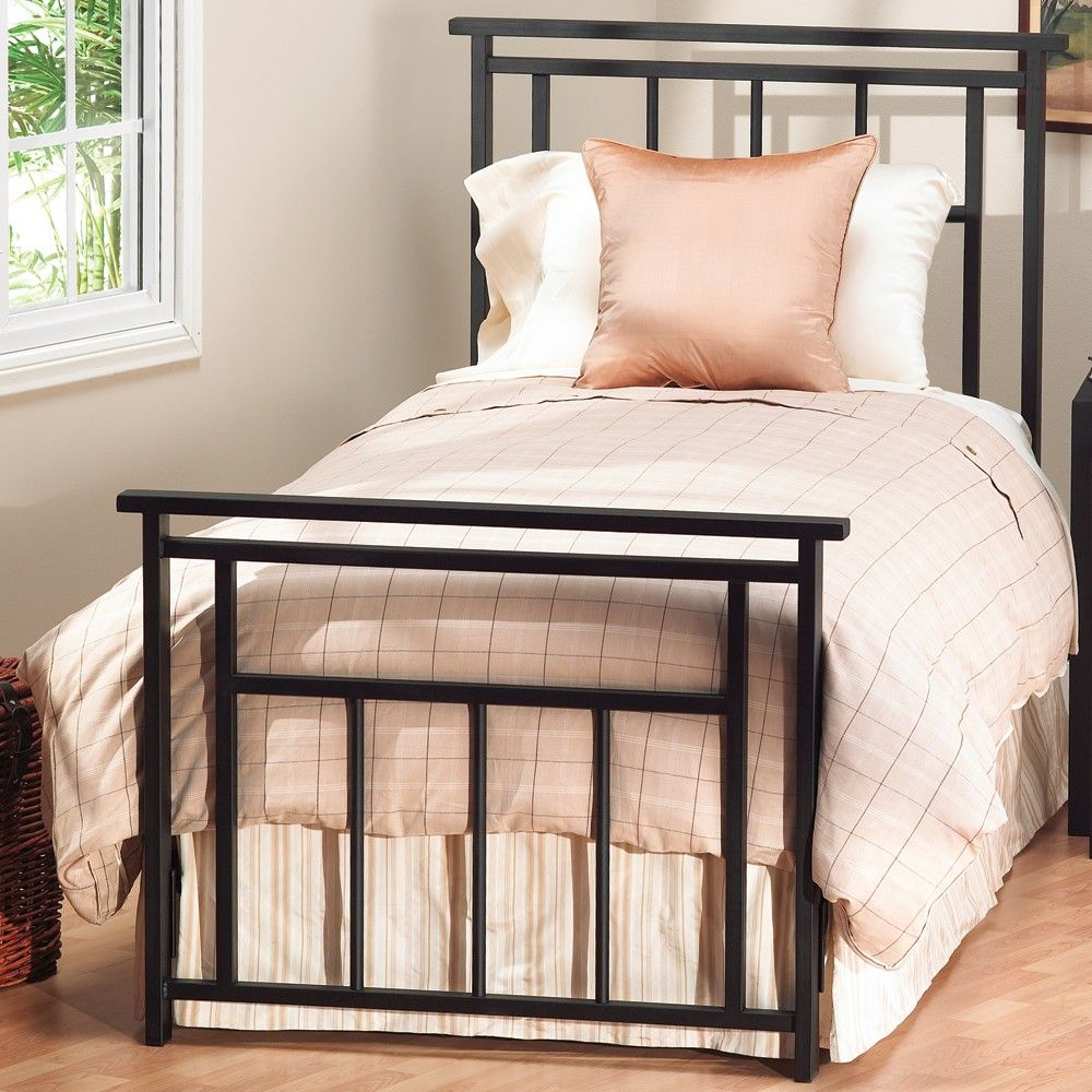 Aspen Iron Bed by Wesley Allen Matte Black Finish