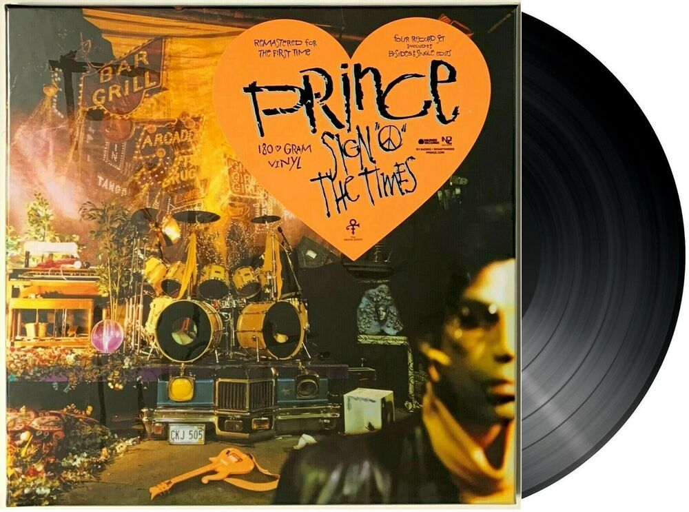 Prince Sign O The Times Box Set 4lp Vinyl Lp Record Album 180 Gram Sealed Ebay In 2020 Record Album Sign O The Times Vinyl Record Album