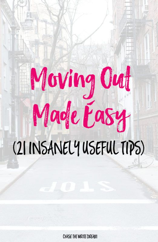 Moving Out Made Easy (21 Insanely Useful Tips) | Apartments, College ...