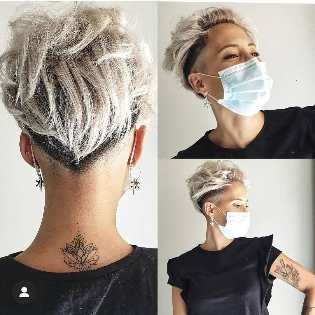 Sidecut kurze haare