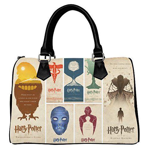 iHomeStore Custom Harry Potter Leather Canvas Handbag  Tote Bag  Shoulder  Bag for Women. iHomeStore Custom Harry Potter Leather Canvas Handbag  Tote Bag