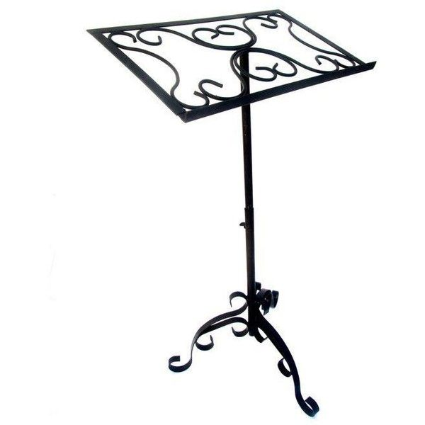 Antique Wrought Iron Sheet Music Stand 195 Liked On Polyvore