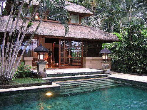 Natural House Bali Bali Style Home Bali House Tropical Houses