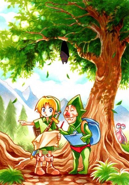 Link And Tingle The Legend Of Zelda Via Pixiv Reincarnated Fairy