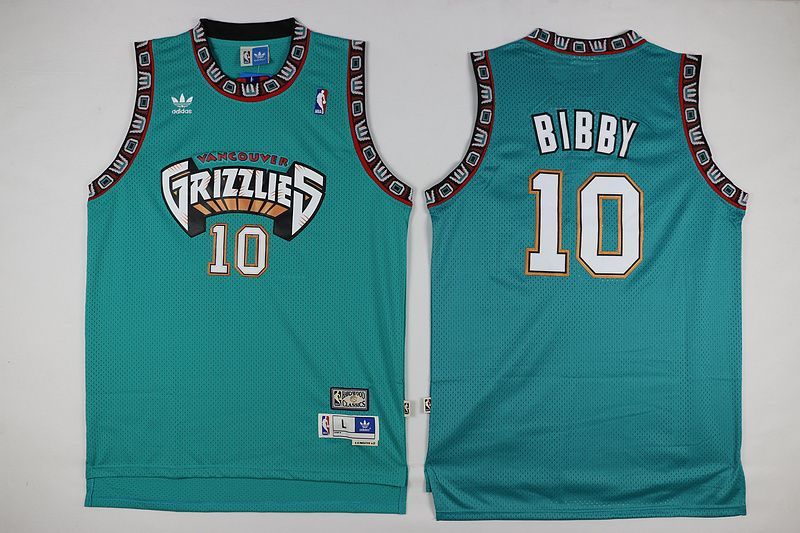 Mike Bibby Vancouver Grizzlies #10 Swingman Throwback Basketball Jersey NBA