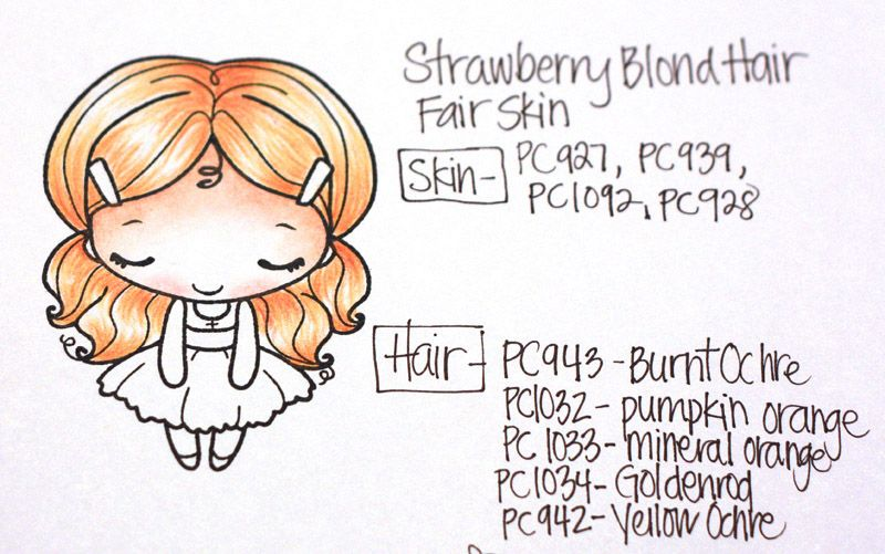 Prismacolor Skin Hair Guide Book Deconstructing Jen Handmade Cards Sketches And Tutorials Prismacolor Coloring Books Colored Pencil Techniques