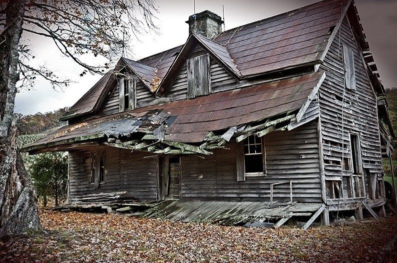 Abandoned Places Near Me - Google Search  Scary Houses -2035