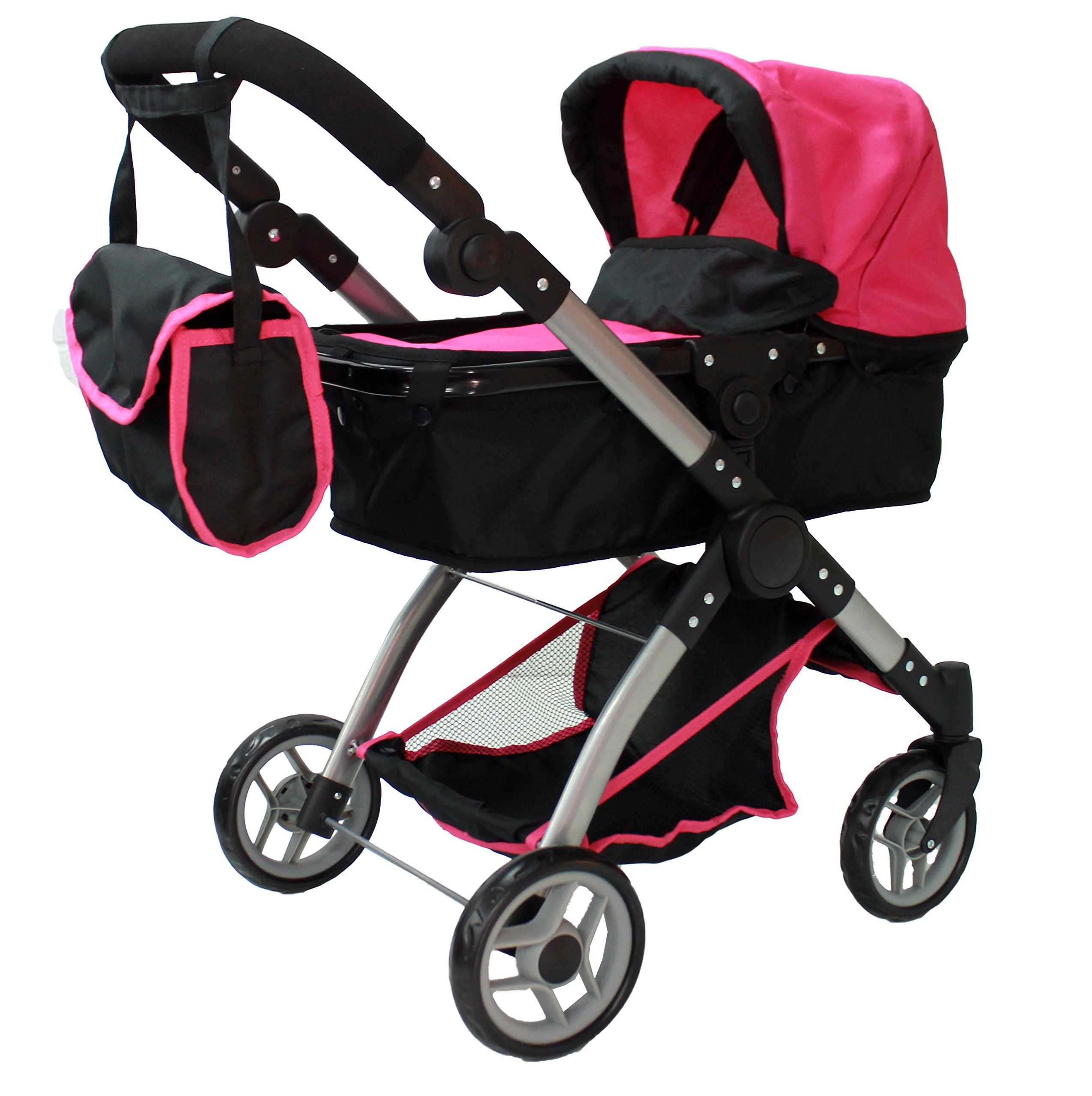 Mommy & me 2 in 1 Deluxe doll stroller (view all photos