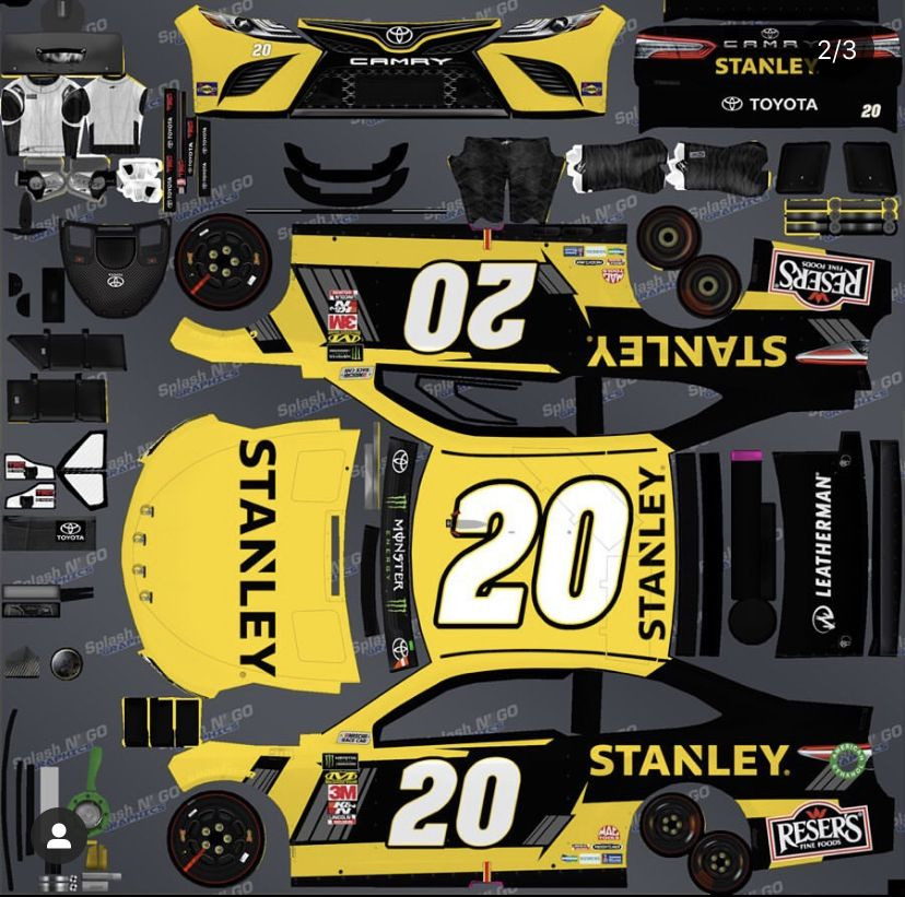 Pin by Nagheat on Nascar diecast templates in 2020 ...