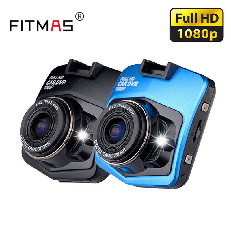 Car Camera Driving Recorder 170 Degree Wide Angle HD 1080P Car DVR Dash Cam Black Box Night Vision Parking Monitor Recorder