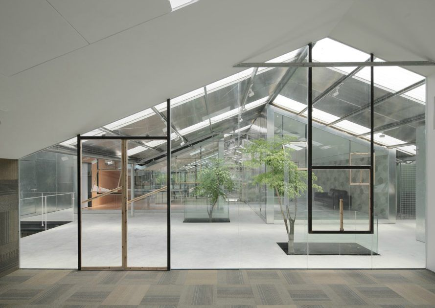 Architecture firm, O-office has converted an old abandoned