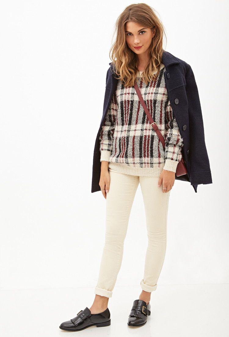 Skinny Corduroy Pants - Shop All Sale - Women - 2000099597 - Forever 21 EU