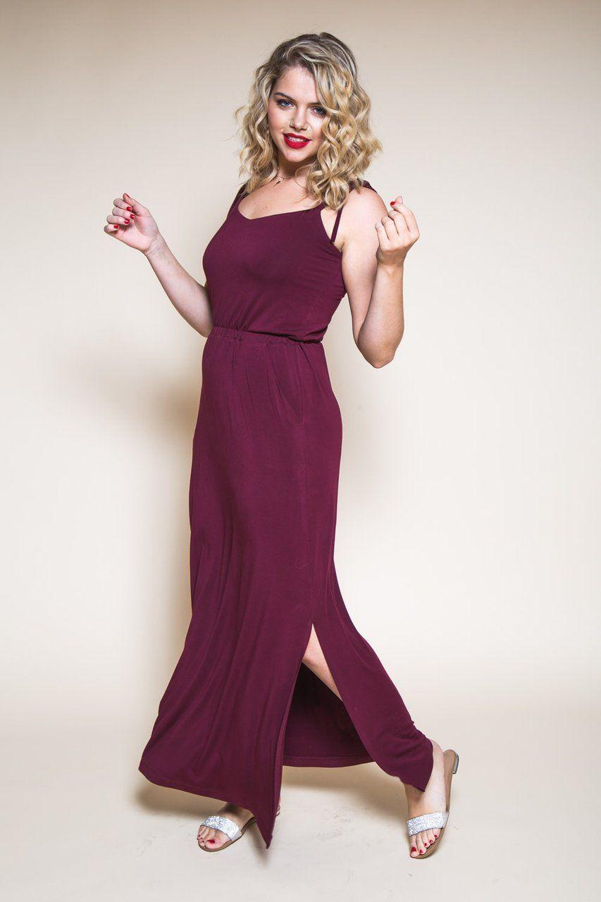 3d7ebcaacf2 New Dress Pattern fro Women    Sallie Maxi-Dress Pattern    Closet Case  Patterns