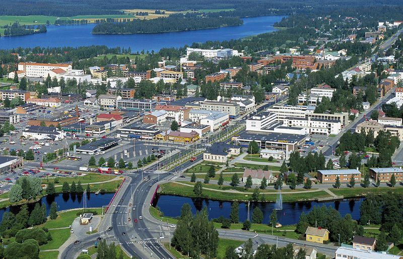 Iisalmi is a city located in eastern Finland My country Finland