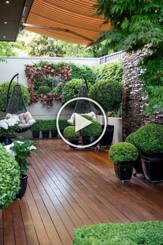 Gorgeous 20 Chic Small Courtyard Garden Design Ideas For You In 2020 Garten Landschaftsbau Garten Patio Garten