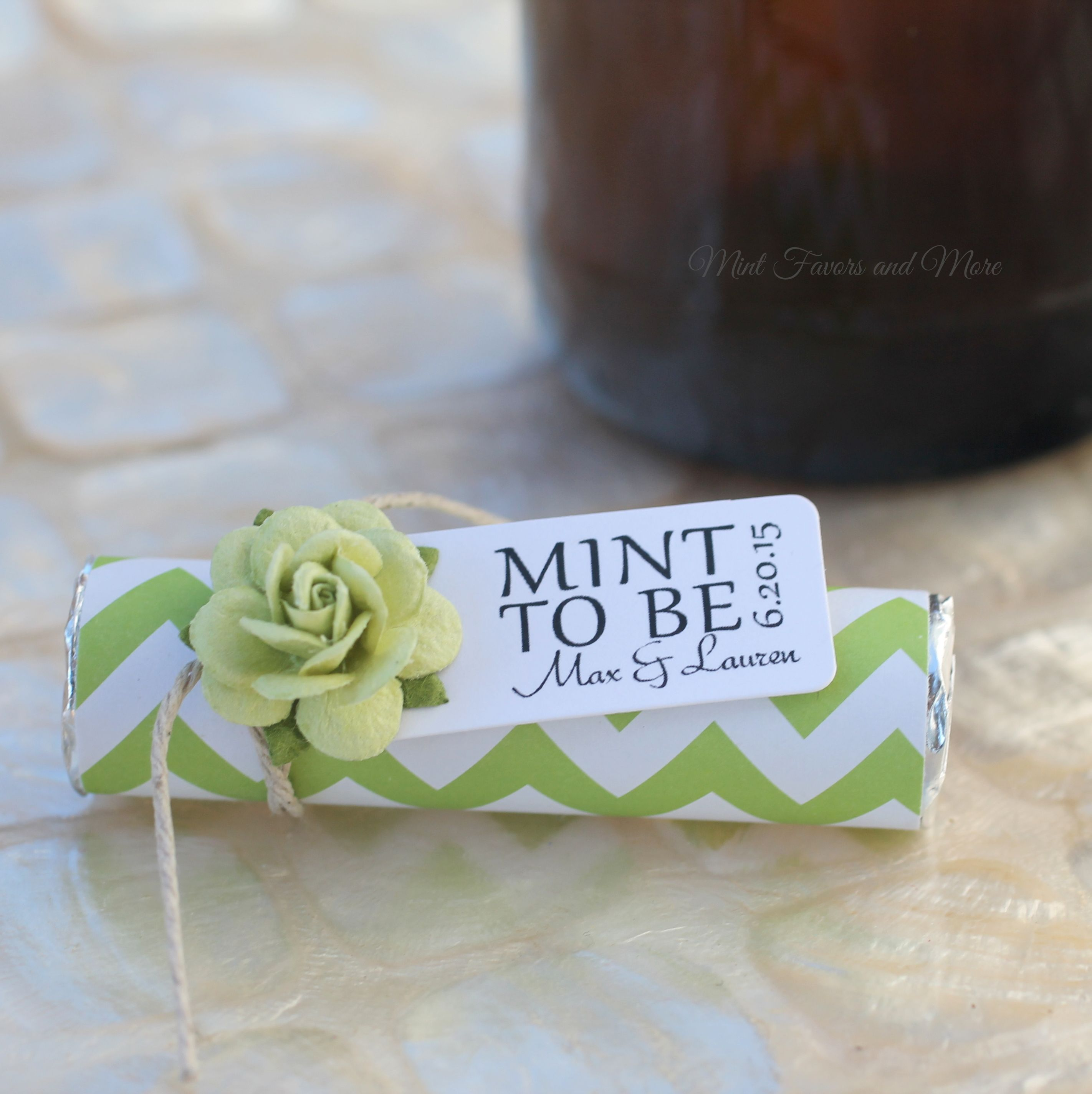 Lime Wedding Green Wedding Mint To Be Wedding Favors By Mint