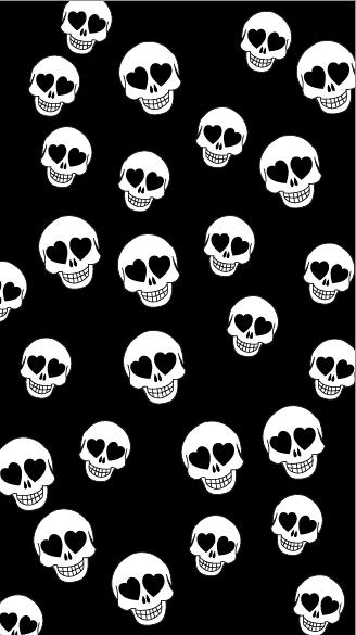 Pin By Destiny Alvarado On Pattern Wallpaper Skull Wallpaper Halloween Wallpaper Iphone Iphone Wallpaper