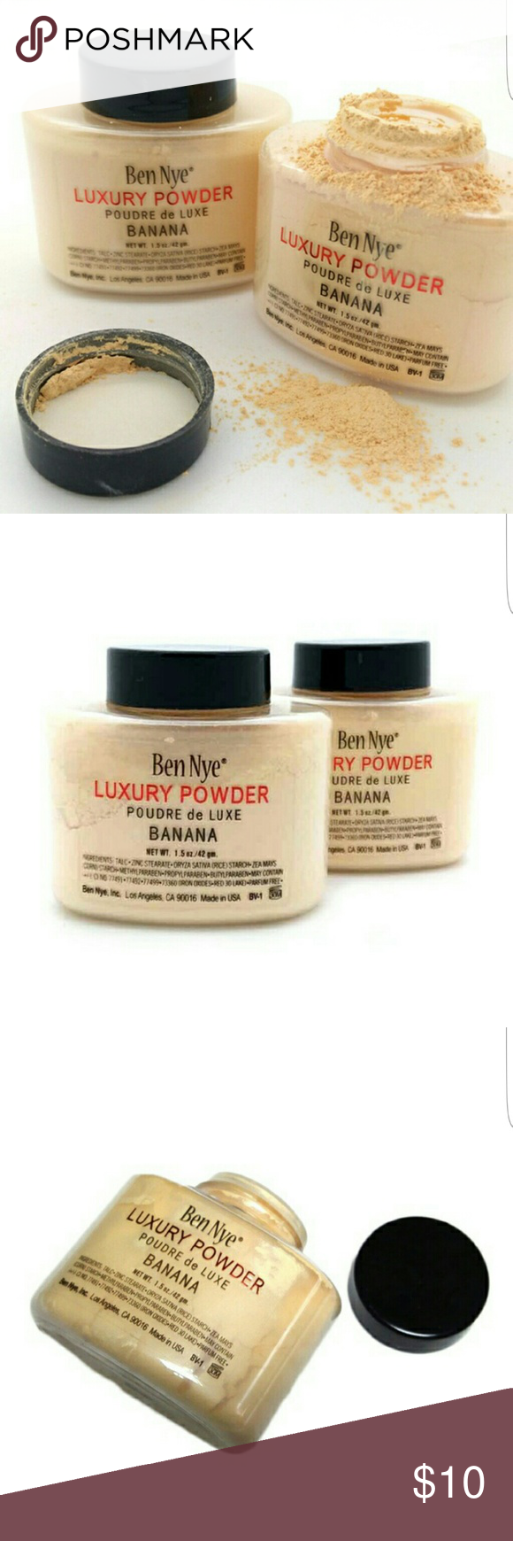 Ben Nye Banana Powder Banana powder, Ben nye, Ben nye makeup