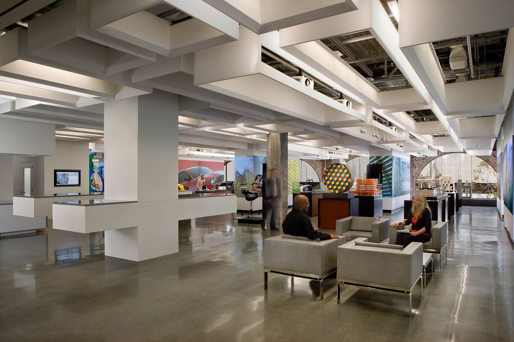 Office tour autodesk s san francisco offices corporate for Office interior design software