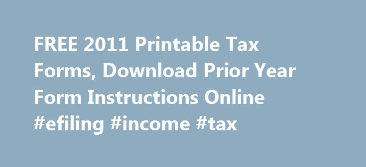 2011 form 1040 | tax form | Pinterest