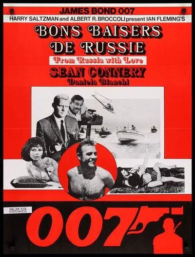 Premium-Poster Sean Connery als James Bond