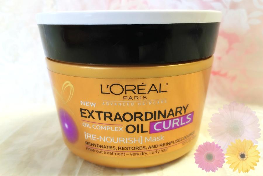 LOreal Paris Hair Care Advanced Extraordinary Oil Curls