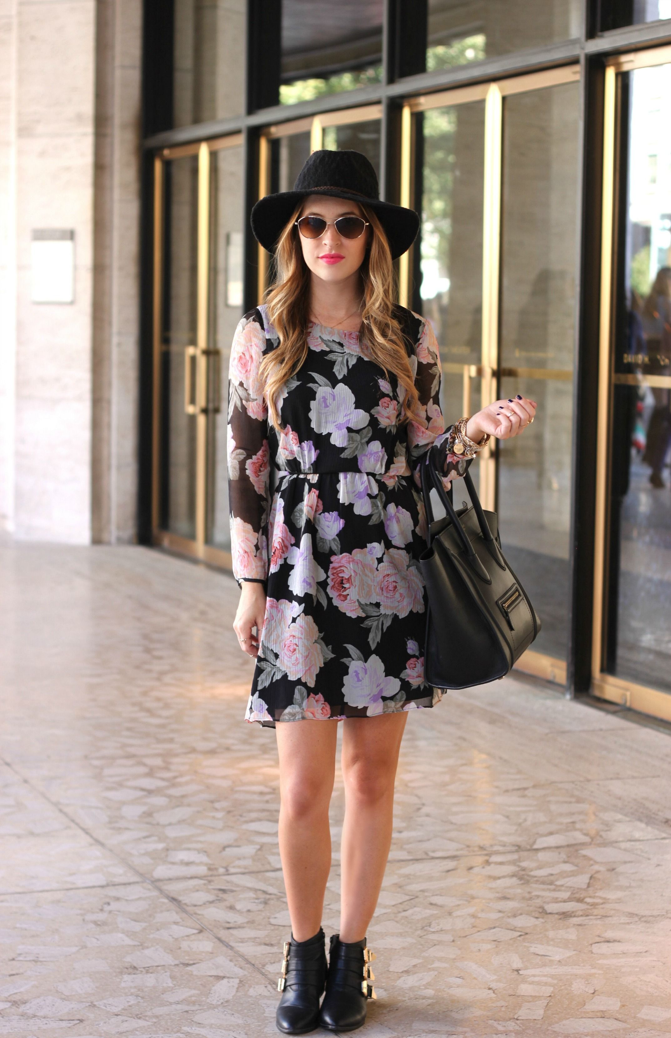 Oh So Glam: NYFW Floral