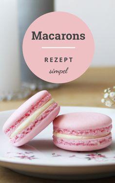 Origial französisches Macarons Rezept #kuchenideen