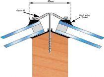 40mm Aluminium Glazing Bar System For Timber Supports Glass And Aluminium Glass Roof Timber