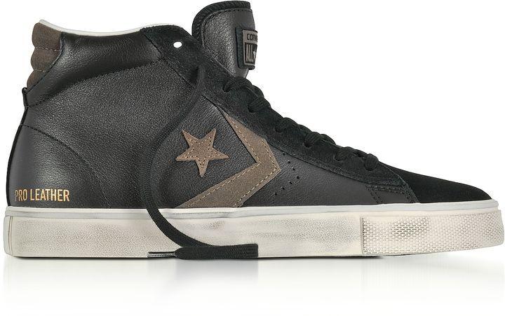 converse vulc leather