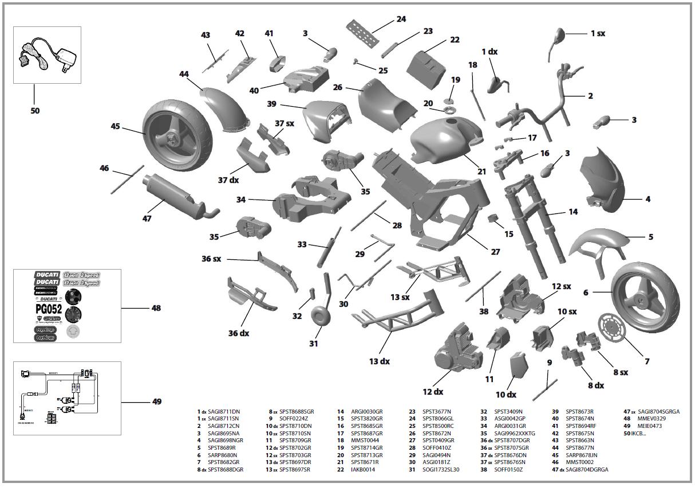 Motorbike Parts Names