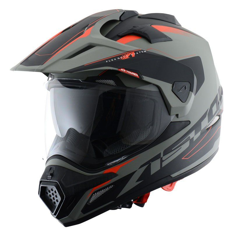 Casco Astone Cross Tourer Graphic Exclusive Adventure Moto