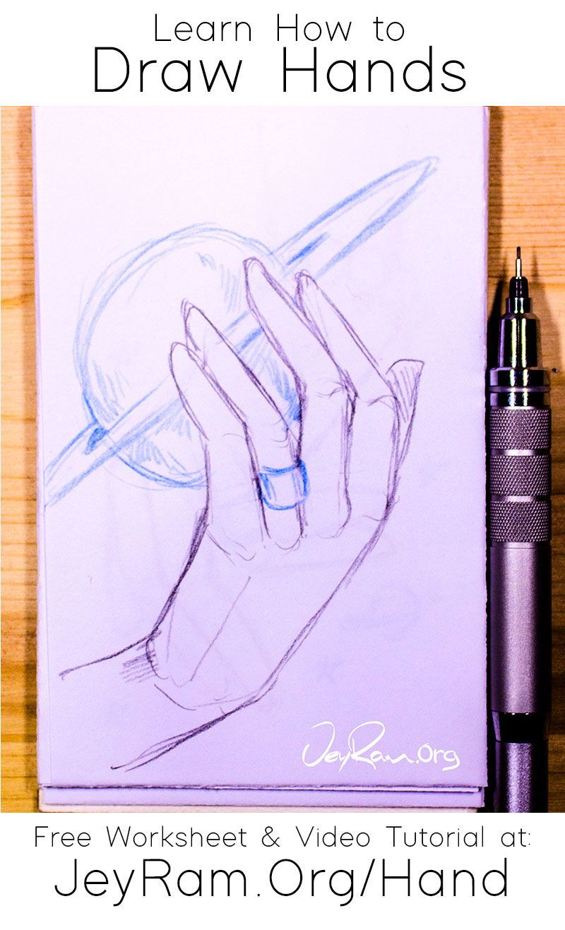 How To Draw Hands For Beginners In 2020 How To Draw Hands Drawings Free Hand Drawing