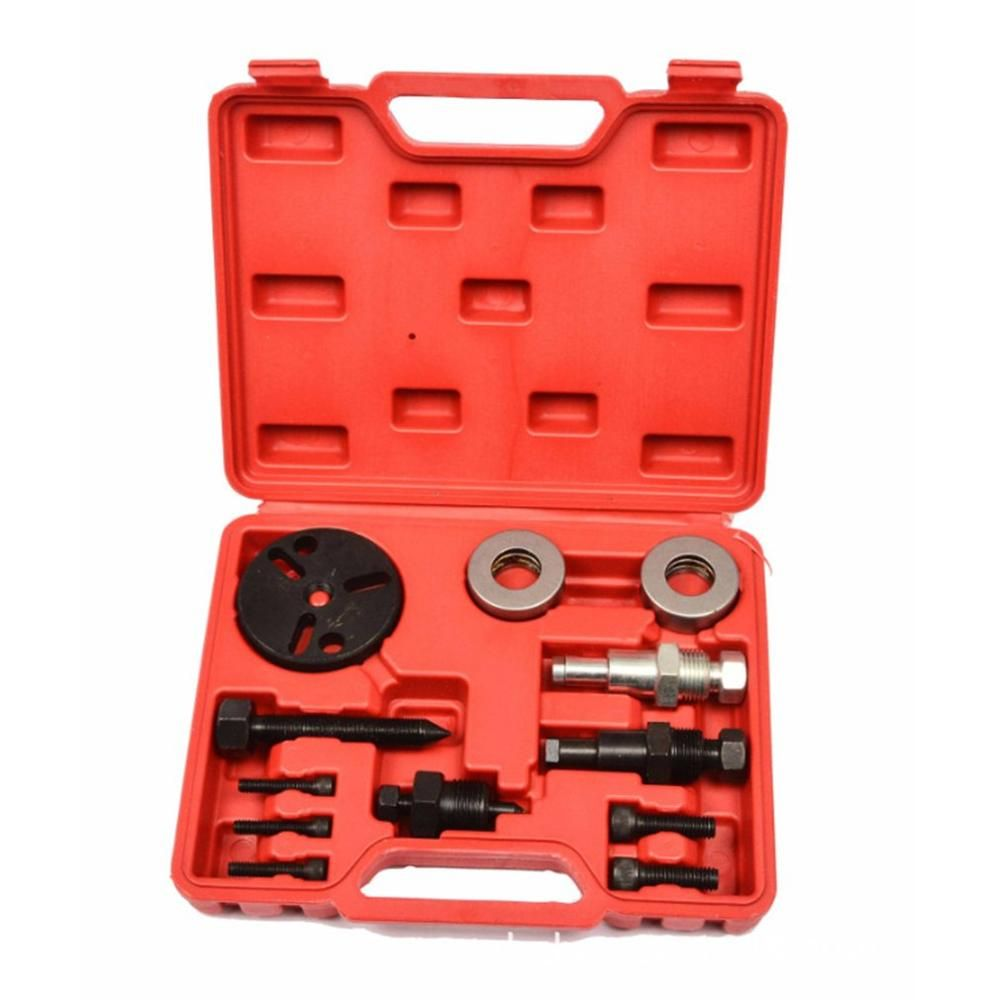 Auto air conditioner compressor disassembly tool