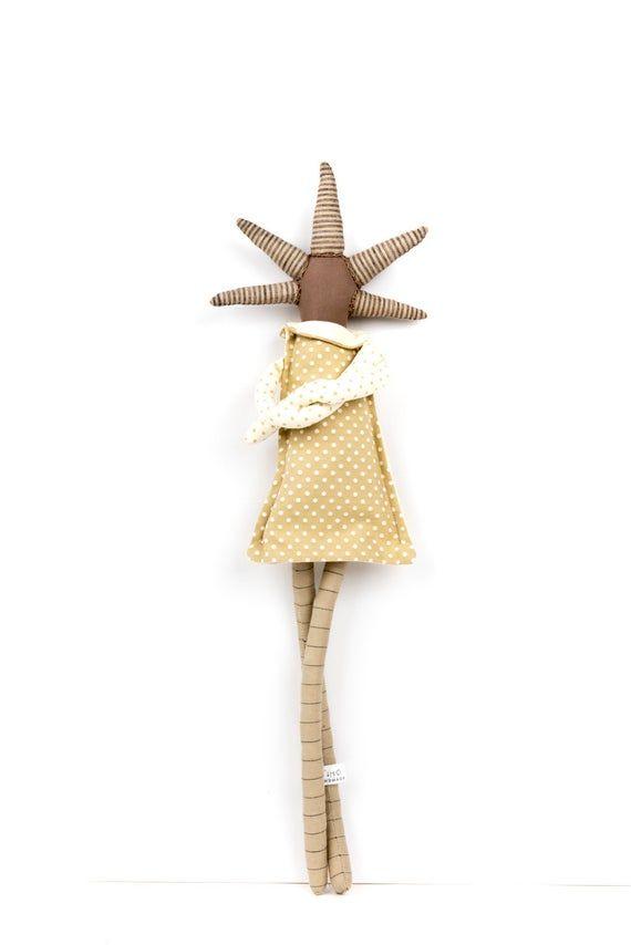 Art doll, First birthday gift, Handmade doll, Stuffed doll, Rag doll, Interior doll, First doll, Ooa