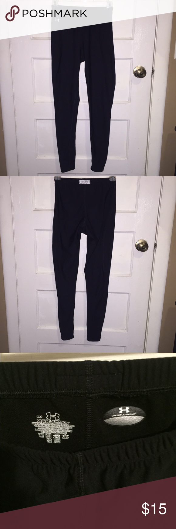 Under Armour spandex leggings. Great for laying Size small Under Armour leggings that work great for laying even under jeans. Under Armour Pants Leggings